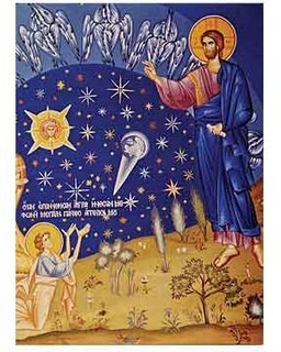 Creation of Stars Icon