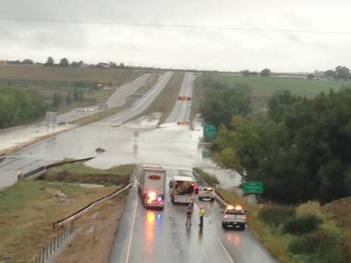 I-25 closure