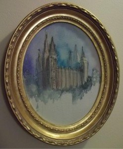 Pat Chiu, Sketch of Salt Lake Temple