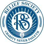 relief society logo true blue