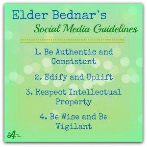 Bednar Social Media Guidelines sm jpg