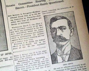 Coverage of Smoot Hearings, March 3, 1904
