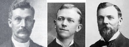 Apostles who married plural wives in 1900/1901: John W. Taylor, Abraham O. Woodruff, & Matthias F. Cowley