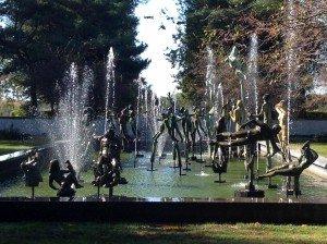 Carl Mille's Fountain of Faith