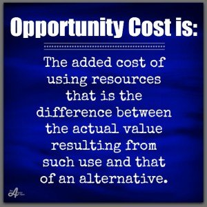 opportunity cost 2