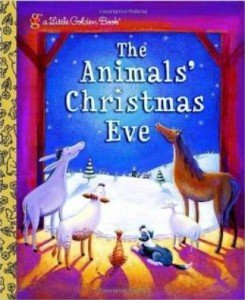 Animals Christmas Eve