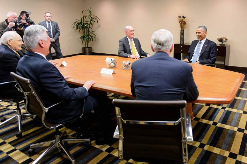 obama and Church leaders