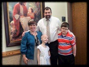 Emma w Family @ Baptism