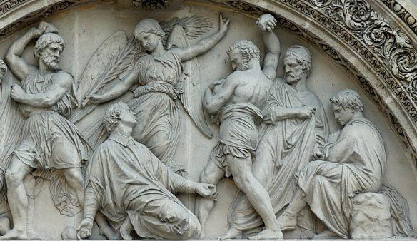 Saul at stoning